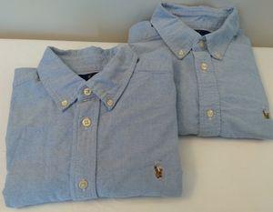 2 Polo Ralph Lauren Boys Denim  Shirt 16